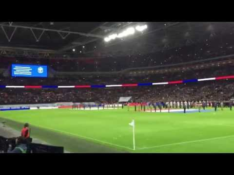 England - France || La Marseillaise || Wembley Stadium 17 November 2015