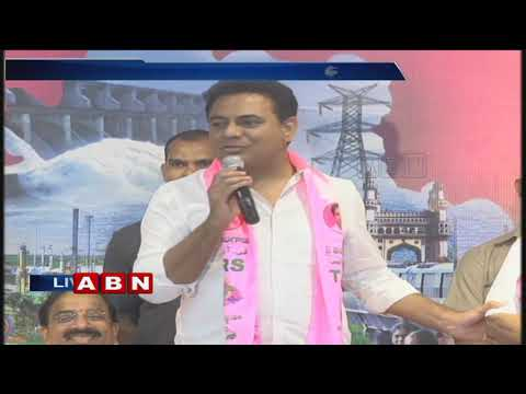 Jalagam Prasad Rao joins TRS Party  | KTR and Tummala Nageswara Rao speech in Public meeting