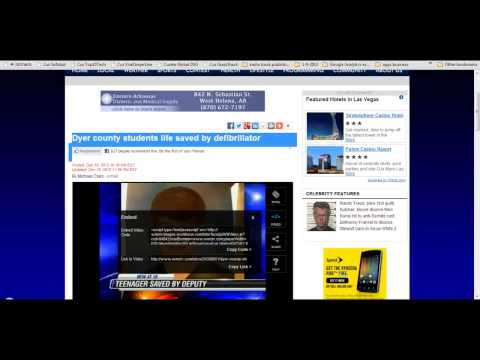 How to embed non standard news video WordPress Blog Article