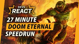 Doom Eternal Developers React to 27 Minute Speedrun