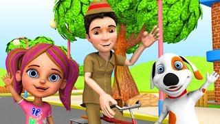 Dakiya Aaya   Hindi Nursery Rhymes   Little Treehouse India   Balgeet In Hindi   डाकिया आया