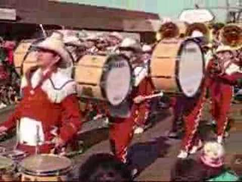 University of Texas Longhorn Marching Band Video
