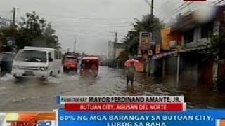 NTG: 80% ng mga barangay sa Butuan City, lubog sa baha