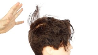 How to Tame a Hair Cowlick or Swirl - TheSalonGuy