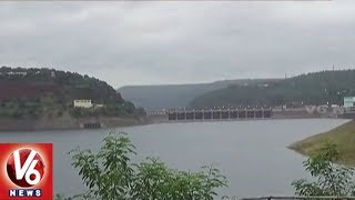 Water Levels In Srisailam Project Increased With Heavy Inflow