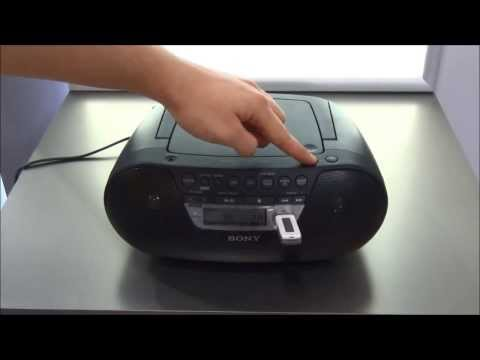 Radio USB SONY ZS-PS30CP