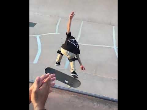 This is amazing @kikuchi_taisei 🙏✨ 🎥: @lspichtig   Shralpin Skateboarding