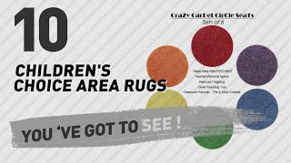 Children's Choice Area Rugs // Top 10 Best Sellers
