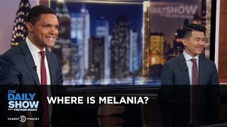Where is Melania? - Between the Scenes | The Daily Show