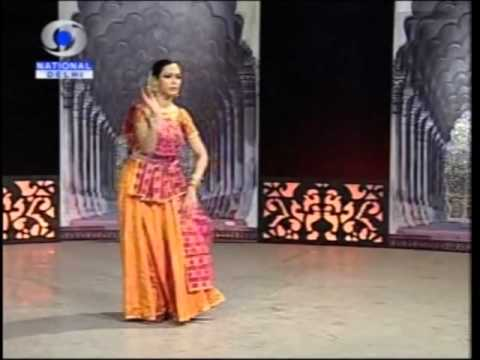 Swati Wangnoo Tiwari - Kathak Dancer performing a thumri broadcast...