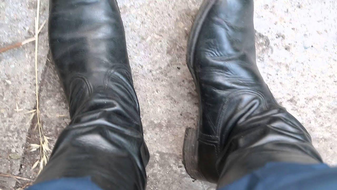 Soviet Officer Boots Officer Chrome Boots