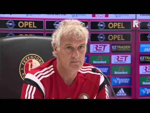 Feyenoord-trainer Fred Rutten blikt vooruit op treffen met Willem II