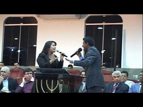CANTOR OBEDE E THEREZA PERES LANÇAMENTO DO CD DE OBEDE LIMA.