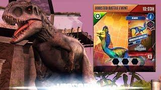 Chiến Đấu Event Cuối Tuần Giành Được Pack Legend   Jurassic World Khủng Long Game Android, Ios