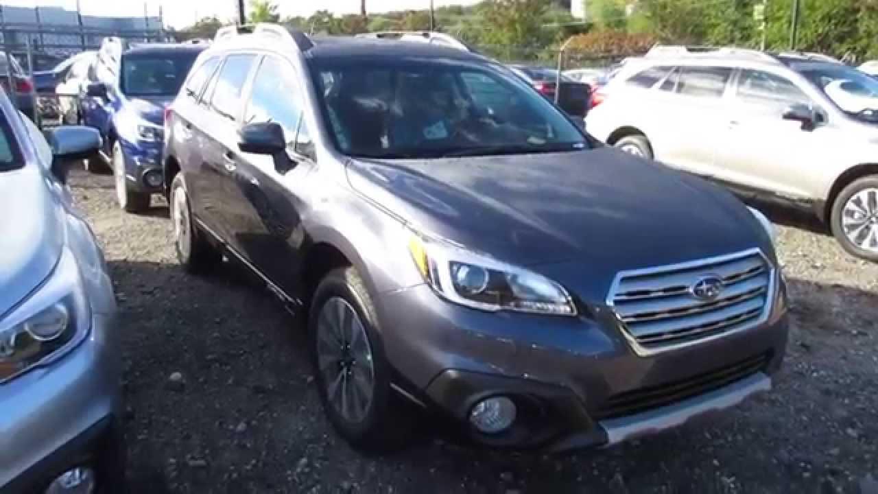 2015 Subaru Outback Carbide Gray 2015 Subaru Outback 2.5i