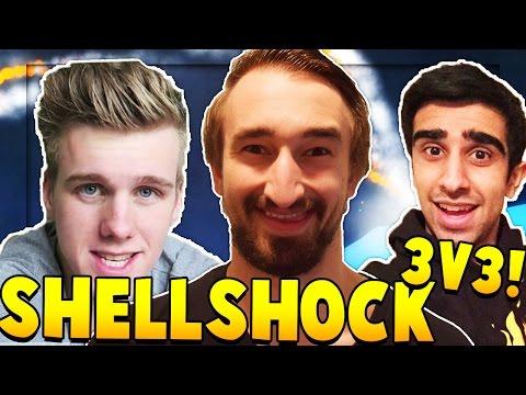 THE PACK 3vs3 - SHELLSHOCK LIVE SHOWDOWN w/ Vikkstar & Lachlan