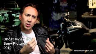 Nicolas Cage HD Interview - Ghost Rider SoV