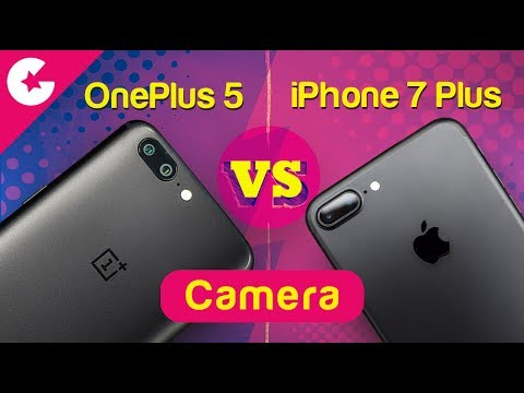 OnePlus 5 vs iPhone 7 Plus - Camera Comparison Test - Which One is BETTER?