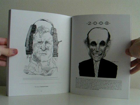 American Presidents by David Levine - preview