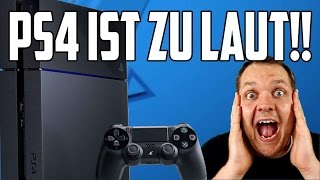 PS4 IST ZU LAUT!! - So macht man die Playstation 4 leiser