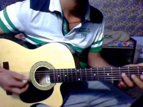 mere mehboob qayamat hogi on guitar