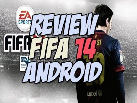 El mejor Juego de fútbol para android | FIFA 14 review - Happy Tech