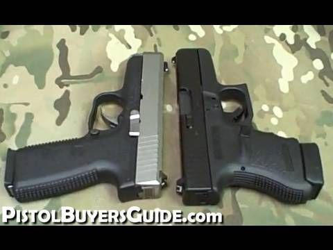 Glock 36 vs. Kahr CW45