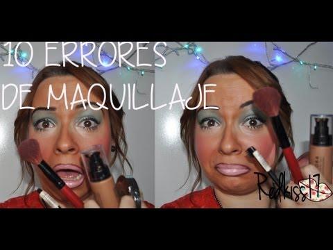 10 errores de maquillaje que no debes cometer!