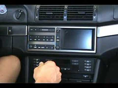 Upgrading The Bmw Small Screen Navigation Display Youtube