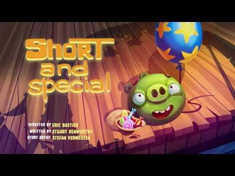 Сердитые птички Angry Birds Toons 3 сезон 19 серия Особенный коротышка все серии подряд