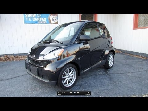 2009 Smart Fortwo Passion Coupe Start Up, Exhaust, In Depth Review, and Test Drive