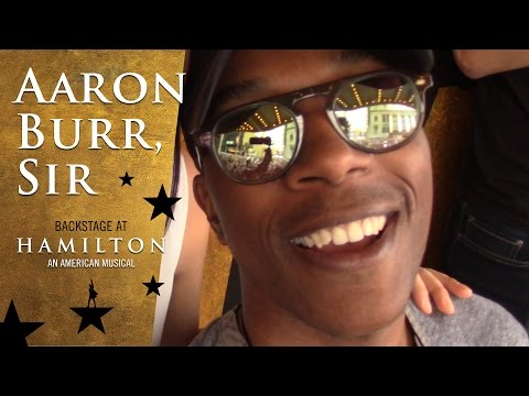 Episode 7 - Aaron Burr, Sir: Backstage at Broadway's HAMILTON with Leslie Odom Jr.