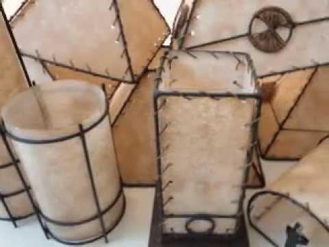 Artesano pantallas y l mparas artesanales youtube for Como hacer artesanias en casa