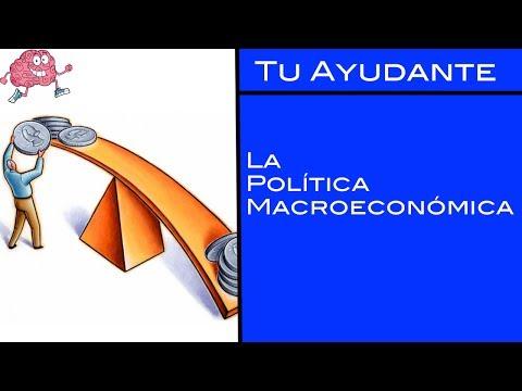 La Política Macroeconómica / Tu Ayudante Economía.