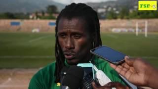 Eliminatoires Can 2017 | Aliou Cissé face aux journalistes