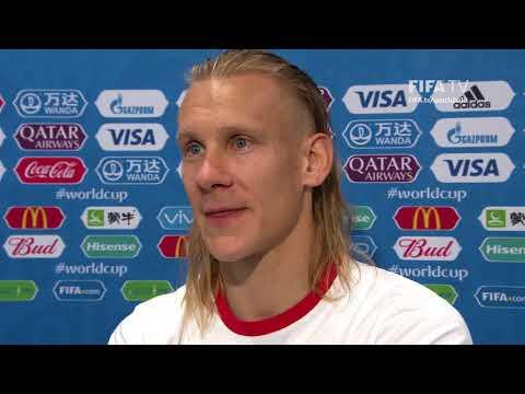 Domagoj VIDA - Post Match Interview - MATCH 62