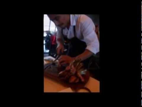 Nusr-Et Steakhouse Nusret G�k�eden Kafes Sunumu