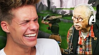 Senioren zocken FORTNITE
