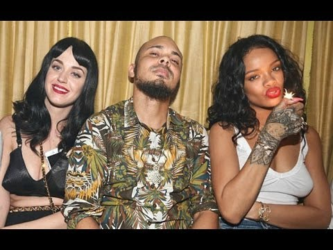 Katy Perry And Rihanna Smoking Party Pictures 2014