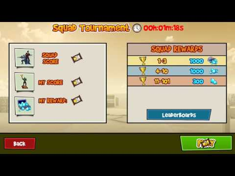 Blitz Brigade / Getting my reward from squad tournament