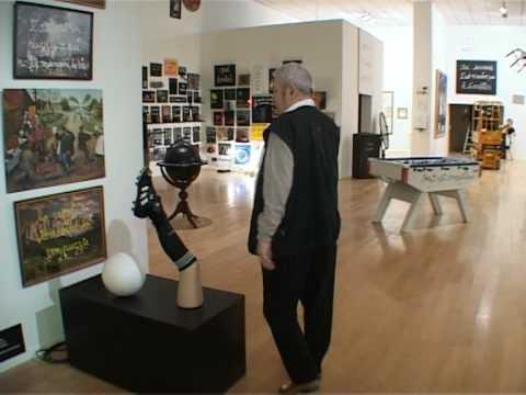 Provocative French artist Ben Vautier opens new exhibition