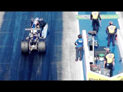 NHRA 4 Wide Nationals 2015 at ZMax - Angie Travis