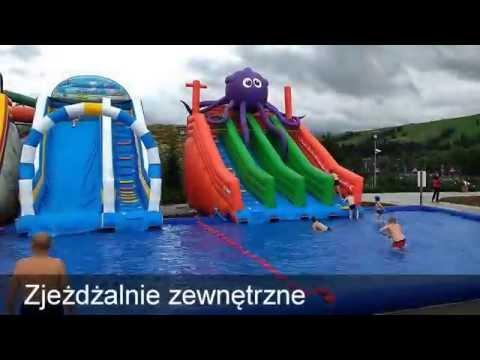Aquapark Termy Bania - Zjeżdżalnie Wodne Dla Dzieci Latem