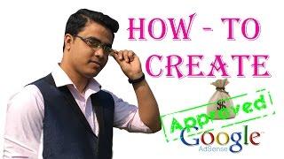 How to Create google adsense Account 2017 !! TecH Bangla!!