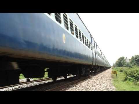 Amaravati express at Kyarkop...