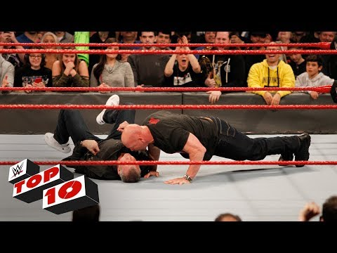 Top 10 Raw moments: WWE Top 10, January 22, 2018 thumbnail
