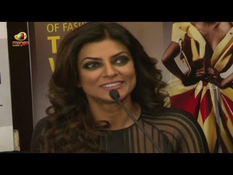 Sushmita Sen Stunning Ramp Walk  Lakme Fashion Week 2014 - Bollywood News video