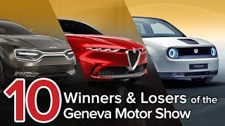 10 Winners & Losers of the 2019 Geneva Motor Show: The Short List