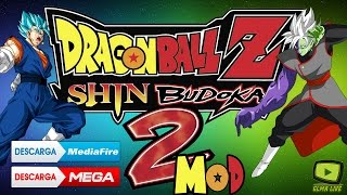 Dragon Ball Z shin Budokai 2 Para Android/Mod Dragon Ball Super(zamasu-vegito ssj Blue)