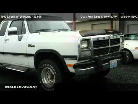 dodge  pickup club cab  sale  moses lake wa  youtube